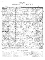 Woodland Township, Wright County 1956
